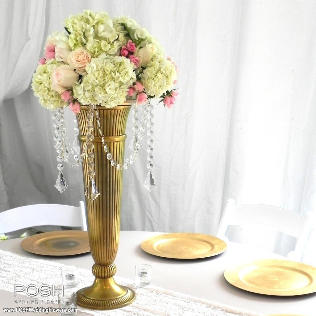 Tall Centerpieces - Seattle Wedding Flowers by POSH