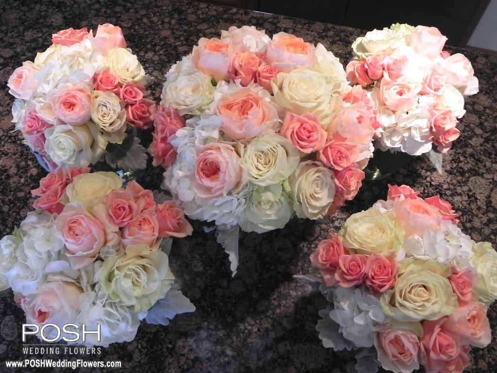 Nerys and Nathan at Laurel Creek Manor - Seattle Wedding Flowers by POSH