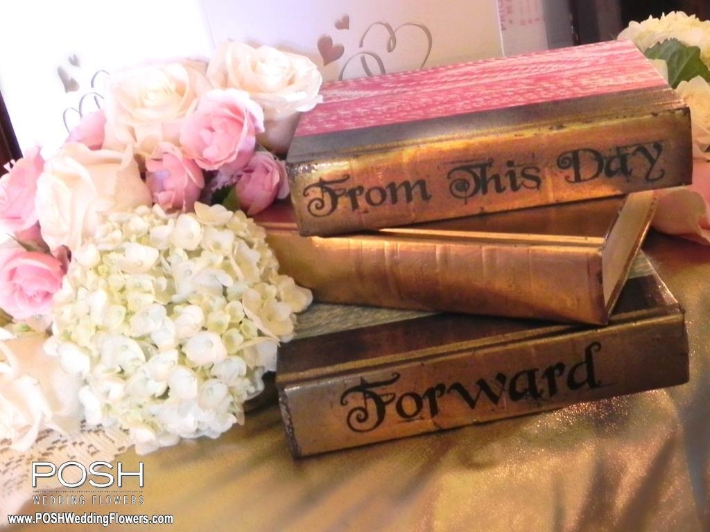 Kristy & Bryan at Thornewood Castle - Seattle Wedding Flowers by POSH