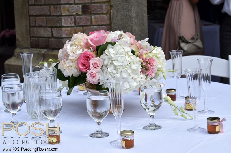 Low Centerpieces Seattle Wedding Flowers By POSH