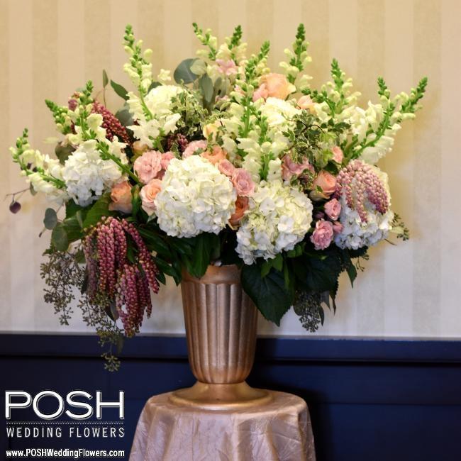 Altar Flowers Wedding Cost: Ceremony Flowers: POSH Altar Arrangement
