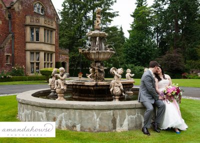 Thornewood Castle Wedding Photos