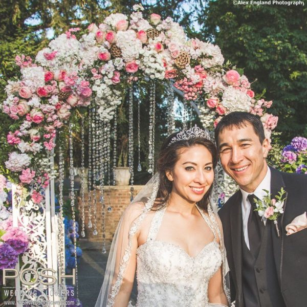 Wedding Arches With Flowers: Seattle Wedding Flowers By POSH