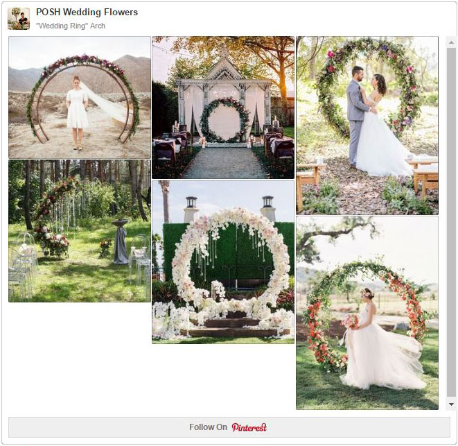 "Wedding Arbor Circle: ""Wedding Ring"" Circle Arch"