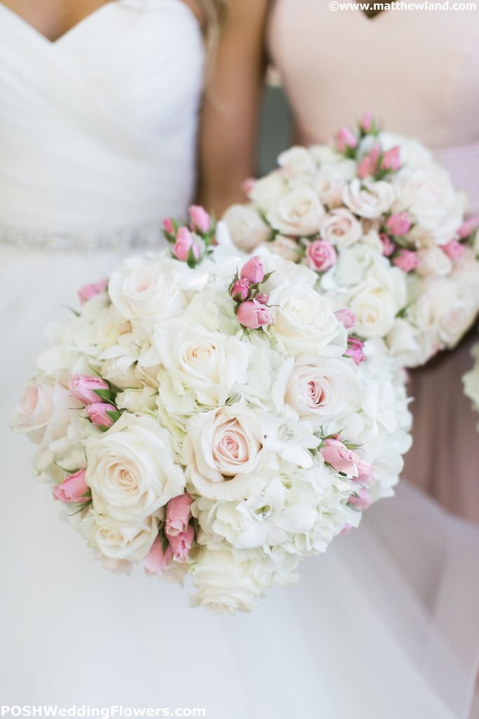 Bride's and Bridesmaid's bouquets