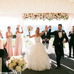 Woodmark Hotel Wedding Ceremony