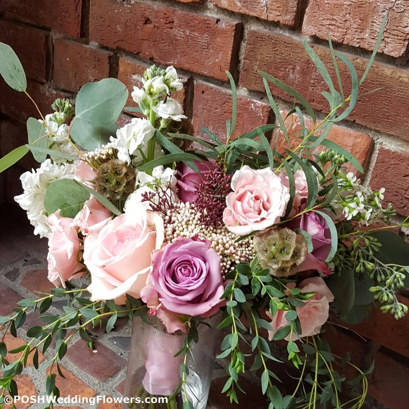 Bridesmaid Bouquet at Thornewood Castle
