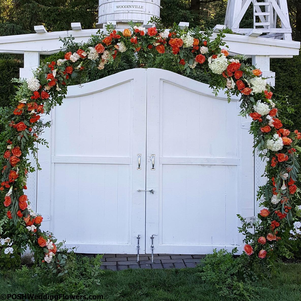 "Wedding Arbor Circle: Circle Arch: POSH's Fabulous ""Wedding Ring"" Circle Arch"