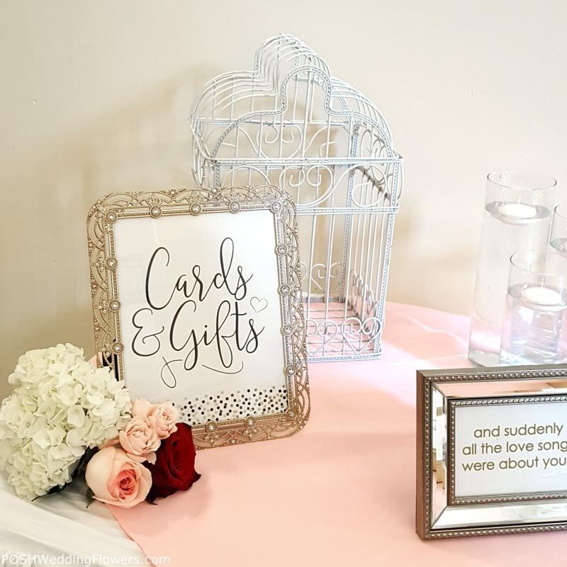 Card Table At Monte Cristo Ballroom Wedding Seattle Wedding