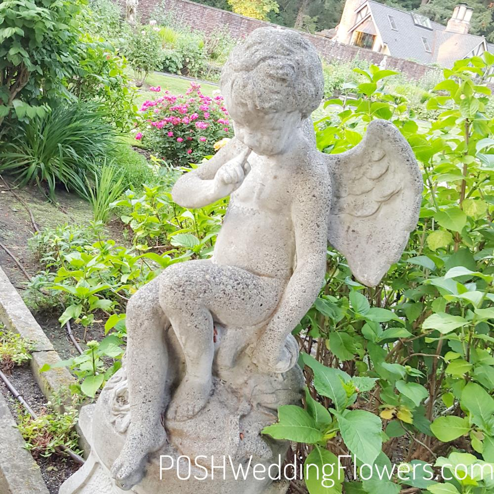 Angel Statue at Thornewood Castle