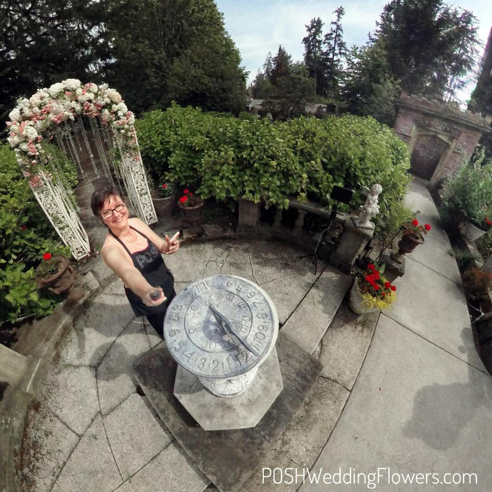 Thornewood Castle Secret Garden Arch