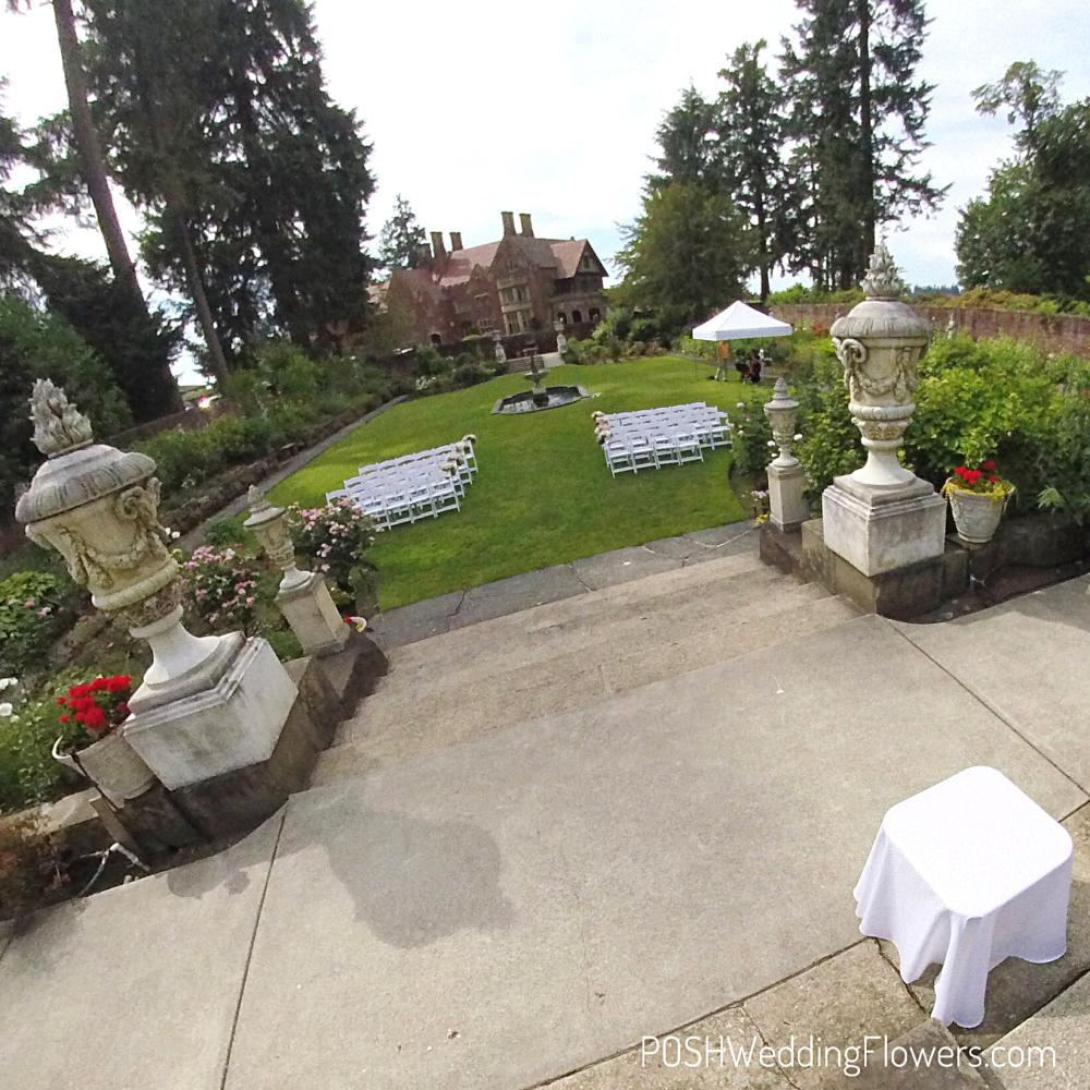 Thornewood Castle Wedding Ceremony